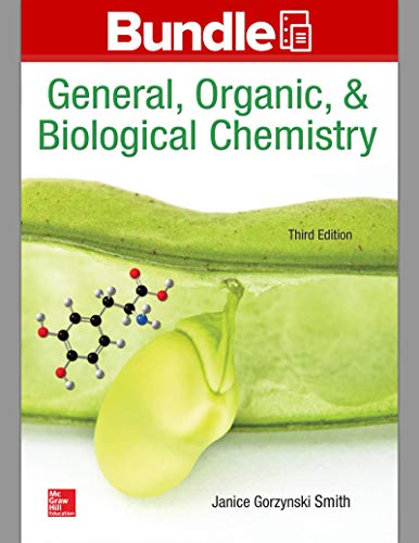 Combo: Loose Leaf for General Organic & Biological Chemistry with Connect Access Card Chemistry with LearnSmart 2 Semest