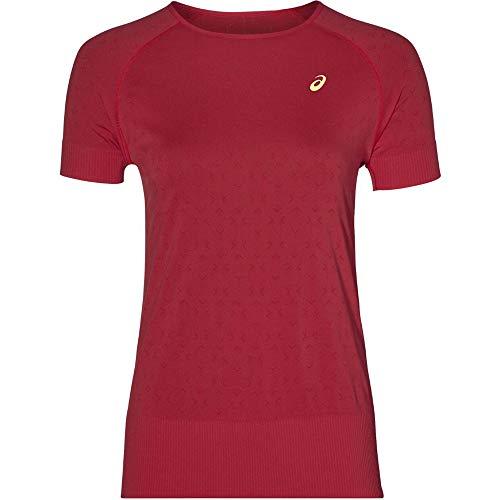 ASICS Seamless Manica Corta Texture Women's T-Shirt - SS19 - XL