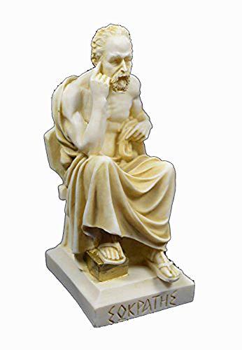 Griego Antiguo filósofo Sócrates Estatua Escultura de años