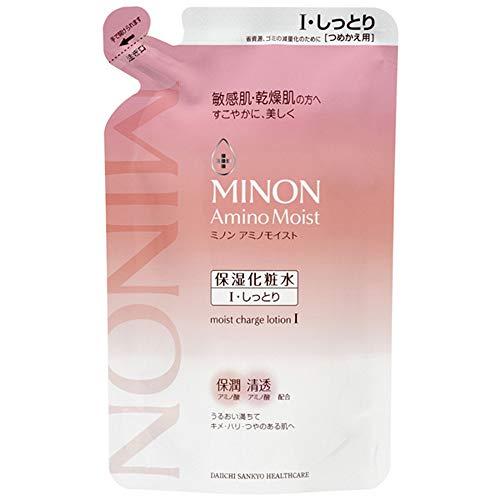 Minon Amino Moist Moist Charge Lotion 1- Moist Type - 130ml - Refill (Green Tea Set)
