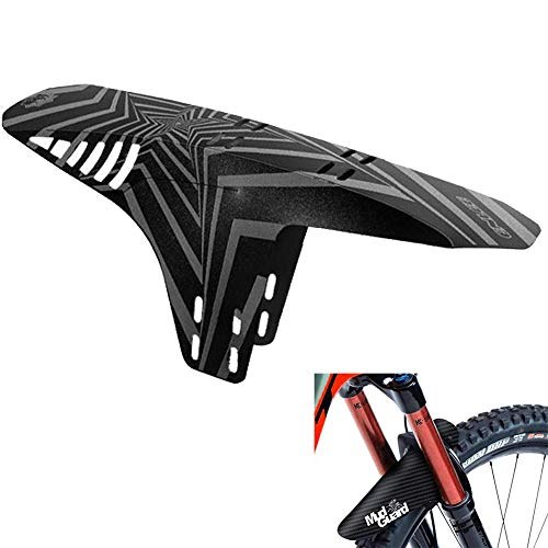 """Guardabarros MTB, Guardabarros de Bicicleta, Apto para MTB Mudguard Delantero y Trasero Compatible se Adapta a 20"""" 22"""" 26"""" 27,5"""" 29 Pulgadas de Bici y Bicicleta Fat"""