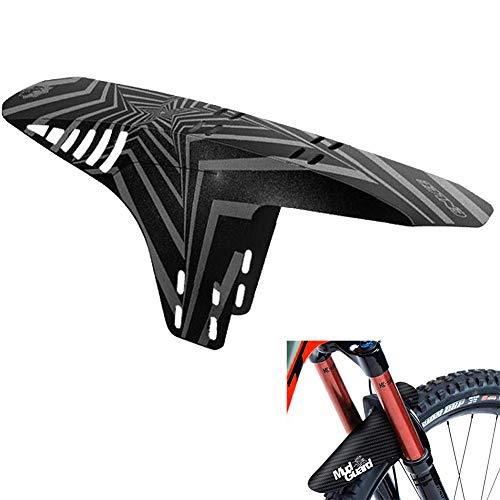 Guardabarros MTB, Guardabarros de Bicicleta, Apto para MTB Mudguard Delantero y Trasero Compatible se Adapta a 20' 22' 26' 27,5' 29 Pulgadas de Bici y Bicicleta Fat