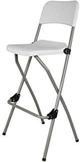 Portable Folding Chair Stackable Conference Office Chair for Home Office Schools,White