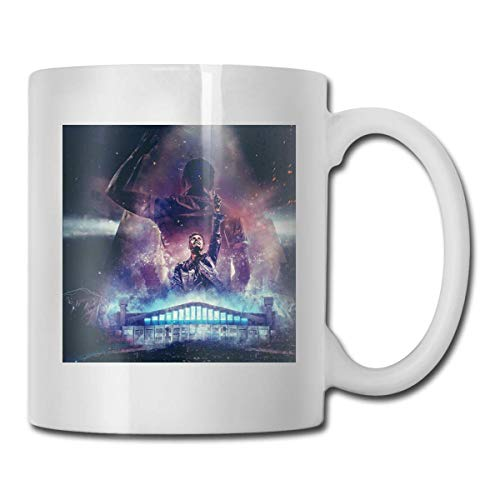 Armin Van Buuren - Taza cambiante de calor – Añadir café o té y a Happy Little Scene Appears – Viene en una divertida caja de regalo