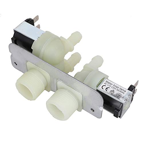 WH13X10029 Water Inlet Valve for GE Washer- Replace AP4303282, 1475762, AH1482392, EA1482392, PS1482392