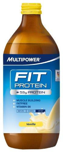 Multipower Fit Protein, Sabor Vanilla - 12 Unidades