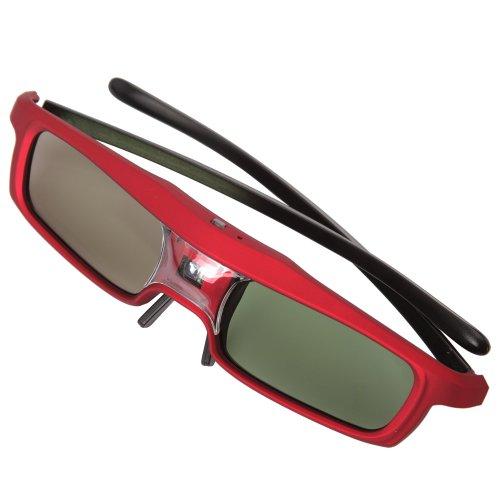 DLP Link gafas 3d de obturación universal 3d con obturador activo DLP 3d gafas para proyector DLP, DLP proyector para BENQ ACER Sharp OPTOMA Dell VIEWSONIC NEC Mitsubishi Vivitek Samaung 3colores Color a elegir