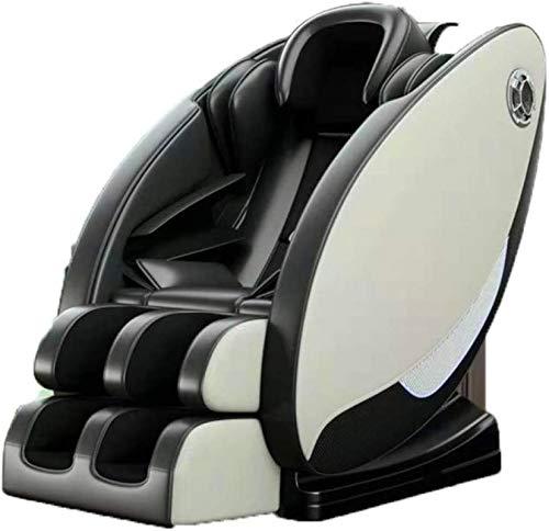 ZAMAX Poltrona massaggiante Shiatsu, 3D Massage Chair Computer Sedia Full Body Shiatsu 4D Zero Gravity Foot Spa Multifunzionale Poco costoso di Lusso Elettrico, Massaggio Intelligente Multifunzione