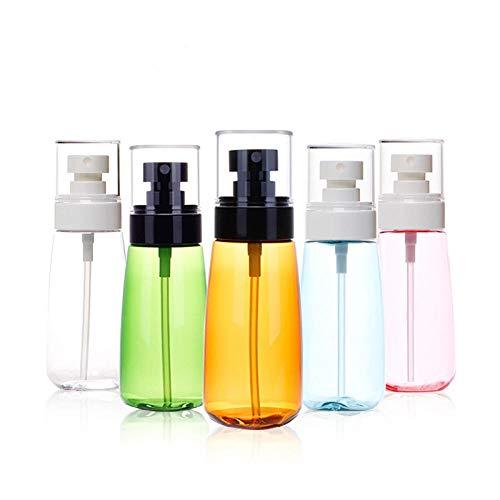 Flacon pulvérisateur à brume fine embouteillage d'hydratation cosmétique, pour le nettoyage, le jardinage, l'alimentation, 5 paquets de 30 ml Bleu transparent