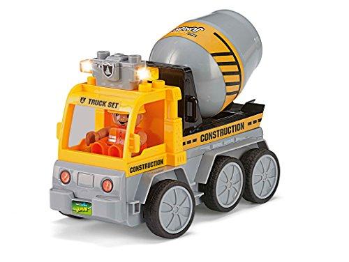 RC Auto kaufen Baufahrzeug Bild 3: Revell Control Junior RC Car Betonmischer - ferngesteuertes Baufahrzeug mit 27 MHz Fernsteuerung, kindgerechte Gestaltung, ab 3, mit Teilen und Figur zum Bauen und Spielen, LED-Blinklichtern - 23007*