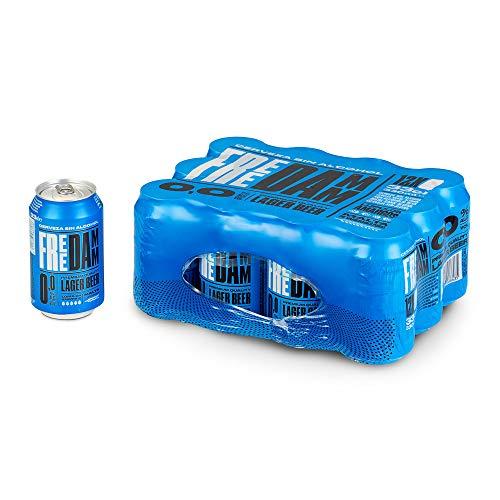 Free Damm Cerveza sin Alcohol 0,0, 12 x 33cl