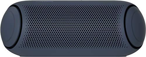 LG XBOOM Go PL5, tragbarer Bluetooth-Lautsprecher (IPX5-Spritzwasserschutz, 18+ h Akkulaufzeit, Beleuchtung), schwarz [Modelljahr 2020]