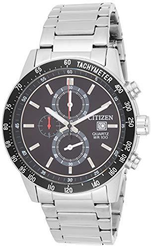 Citizen Men's AN3600-59E Silver Stainless-Steel Japanese Quartz Fashion Watch
