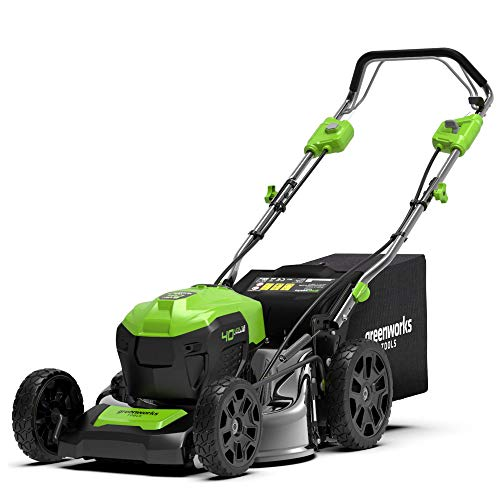 Greenworks 2506807 Cortacésped de 46 cm Brushless con
