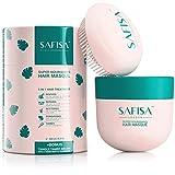 SAFISA Coconut Oil Hair Mask for Dry Damaged Hair...