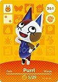 Purrl- Nintendo Animal Crossing Happy Home Designer Series 4 Amiibo Card -361