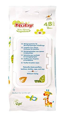 Nûby CG 40048, Citroganix Antibakterielle Feuchttücher