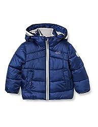 Sanetta Jungen Outdoor Jacke urban Blue Warme Winterjacke in Dunkelblau Kidswear in einem sportiven Look mit Abnehmbarer Kapuze, blau, 092