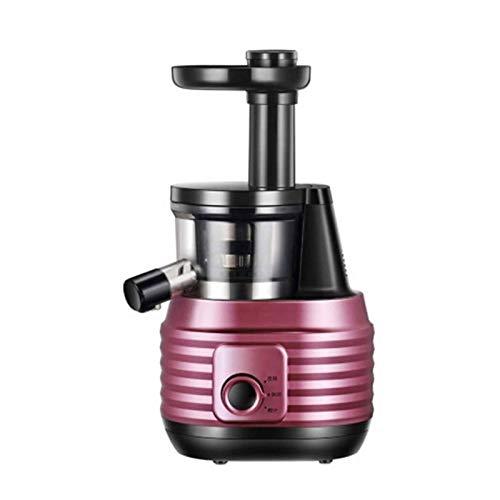 Adesign Máquina de exprimidor, exprimidor de masticación Lento con función inversa, exprimidor de Prensa en frío con Motor silencioso, Jarra de Jugo y Cepillo para Zumo de Alto nutriente, BPA