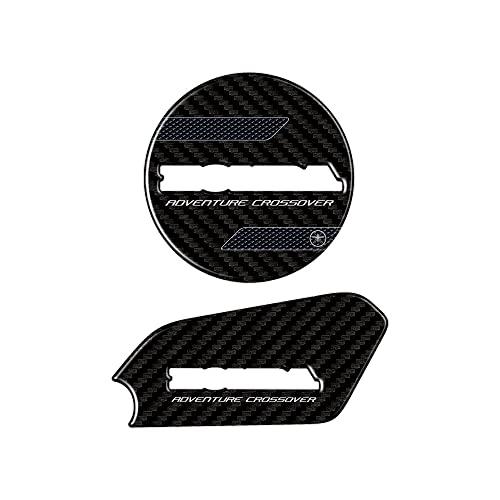 Adhesivos de Resina 3D para cárter Motor y umbral de Puerta compatibles con Honda X-ADV a Partir de 2021