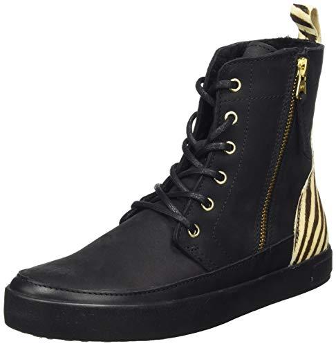 Blackstone Sl76, Zapatillas Altas para Mujer, Multicolor (Zebra...