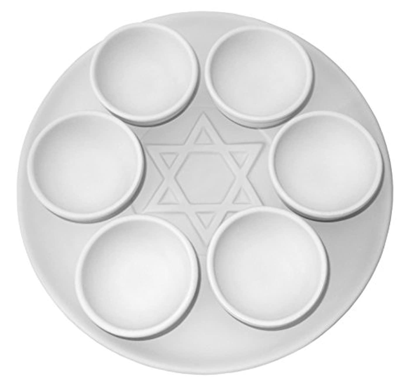 Traditional Seder Plate - Set of 7 Pieces - Paint Your Own Ceramic Keepsake