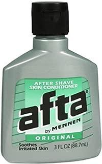 Afta After Shave Skin Conditioner Original 3 OZ - Buy Packs and SAVE (Pack of 5)