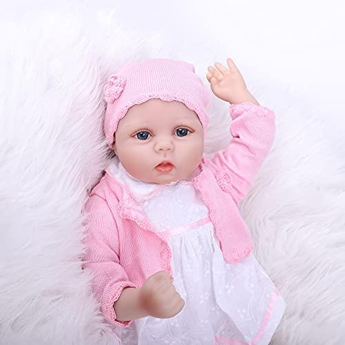 ZIYIUI 22pulgadas 55cm Bebes Reborn niña Verdadero Silicona muñecas Reales Baby Dolls Girls Originales Recien Nacidos niños Toddler Realista Ojos Abiertos