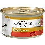 Gourmet - Gold Mousse con Buey, 85 g