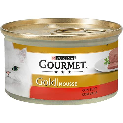 Gourmet Gold Mousse avec Buey 85 g