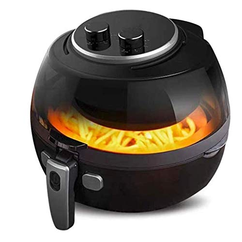Genrics MMDGG 5L de Gran Capacidad Aire Fryer, la freidora eléctrica Horno sin Aceite Olla, Antiadherente Liner 360 ° de Alta Velocidad Aire Ciclo de Calentamiento