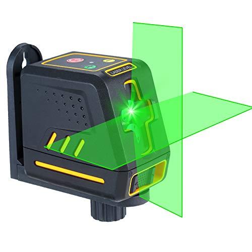 Nivel láser Línea transversal horizontal y vertical profesional KKmoon Autonivelador Nivelación automática...