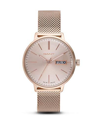 Gant Reloj Analógico para Mujer de Cuarzo con Correa en Acero Inoxidable 7630043930892