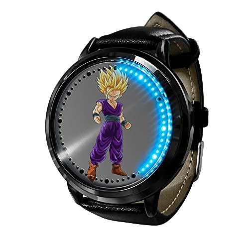 Anime Rick Morty LED Watch LED Touch Watch Relojes de Novedad Relojes Deportivos Reloj Personalizado Unisex WristWatches Mejor Regalo de cumpleaños-Anime2