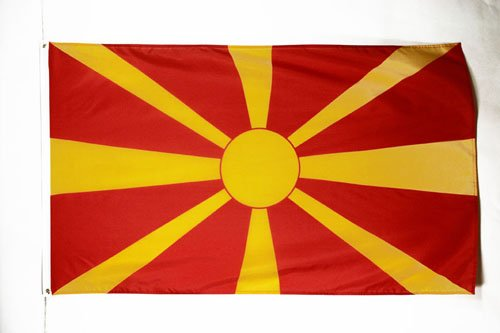 AZ FLAG Macedonia Flag 3' x 5' - Macedonian Flags 90 x 150 cm - Banner 3x5 ft