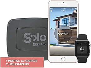 1Control Solo Mini poortopener, Bluetooth 4 LE voor smartphones voor poorten en garagedeuren met afstandsbediening, 1 poor...
