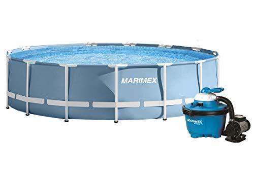 Marimex Florida Prism Swimmingpool, Stahlwandpool für Garten mit Zubehör 3,66 x 0,99 m
