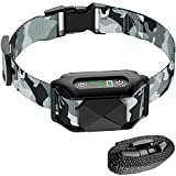 FunniPets Dog Bark Collar, Upgraded Safe Anti Barking Collar with Beep, Vibration, Shock, Rechargeable and Waterproof No Bark Collar for Small Medium Large Dogs