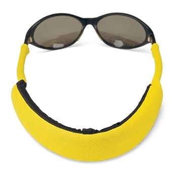Croakies Extreme Floater Eyewear Retainer Yellow 32  x 3/4