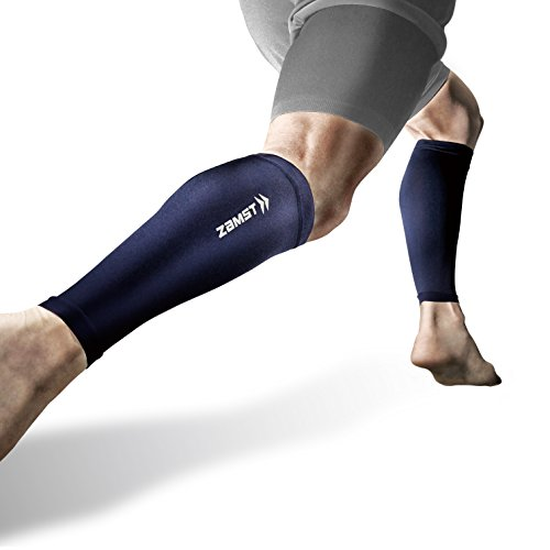Zamst Graduated Pressure Stockings, Calf Sleeve, Both Feet, S–LL Size, Compression, Running