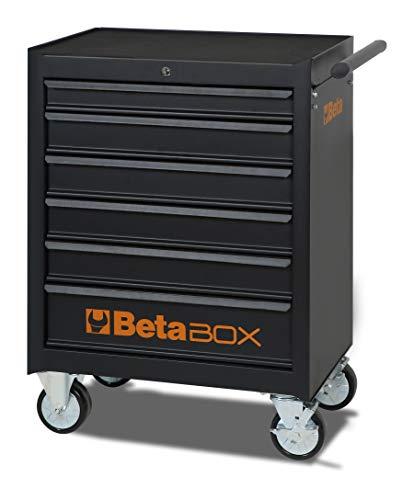 Cassettiera mobile BETA C04BOX 6 cassetti colore nero 099804370-024002021