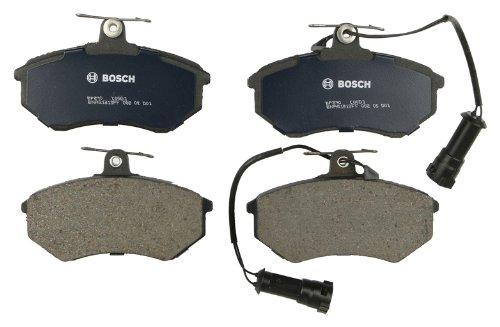 Bosch BP290 QuietCast Premium Semi-Metallic Disc Brake Pad Set For Select Audi 80, 80 Quattro, 90, 90 Quattro, 100, 100 Quattro, 5000, 5000 Quattro, Quattro; Front