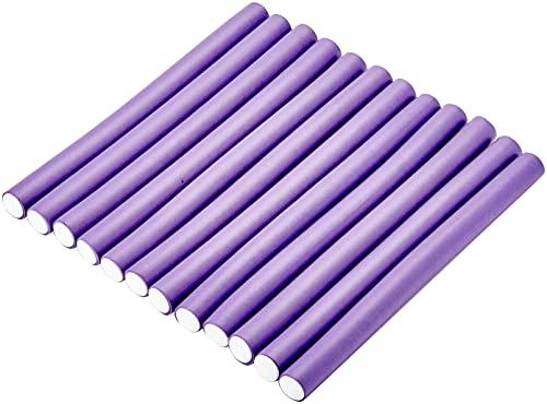 Efalock Professional Flexwickler lang, 21 mm, lila, 1er Pack, (1x 12 Stück)