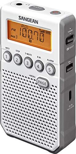 Sangean DT-800, Blanco