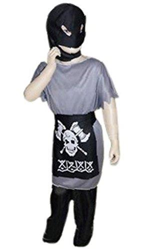 AN05 9-12 Jahre Henker Kostüm, Halloween Kostüm, Henkerkostüm, Henker Faschingskostüme, Henker Karnevalskostüm, für Kinder, Jungen, Mädchen, für Fasching Karneval Fasnacht, auch als Geschenk zum Geburtstag oder Weihnachten
