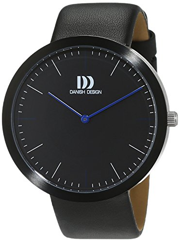 Danish Design uomo-Orologio da polso al quarzo in pelle 3314505