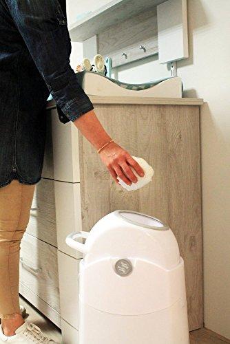 Diaper Champ - Contenitore pannolini anti-odore, per sacchetti...