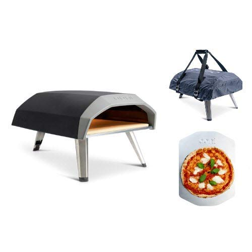 Ooni Koda Gas Fired Pizza Oven with Peel and Carry Cover