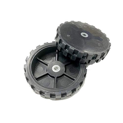 OYSTERBOY Replacement 2pcs Pair of Wheels and Tires for iRobot Roomba 860 870 880 890 960 980