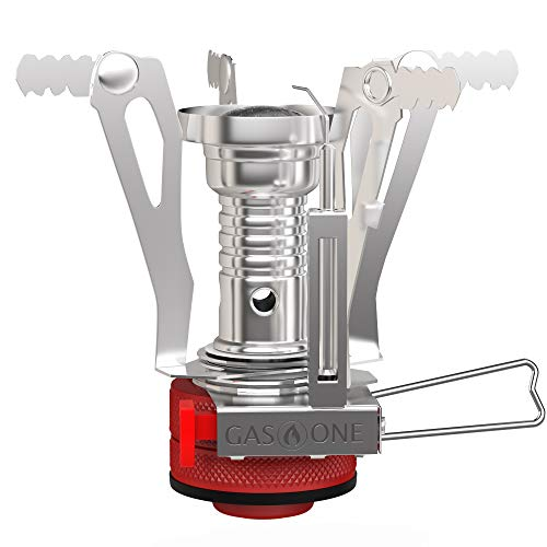 GasOne Backpacking Camping Stove with Carrying Case (GS-7800)